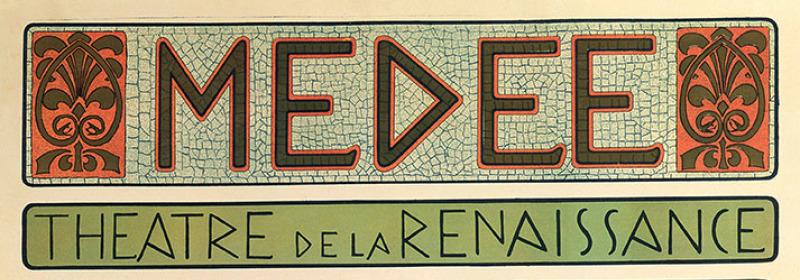 Alphonse Mucha, Affiche pour Médée, 1898