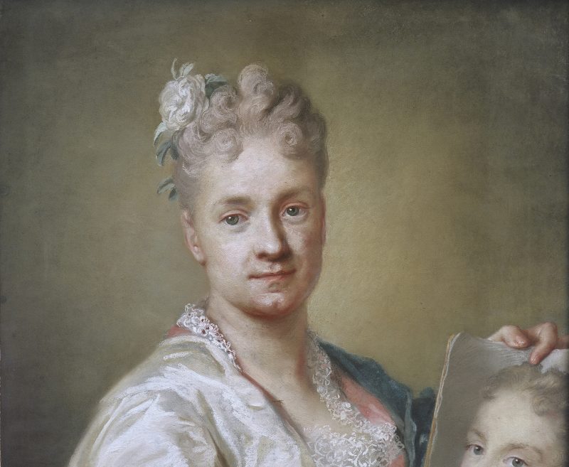 Carriera Rosalba Giovanna (1675-1757). Italie, Florence, Galerie des Offices.