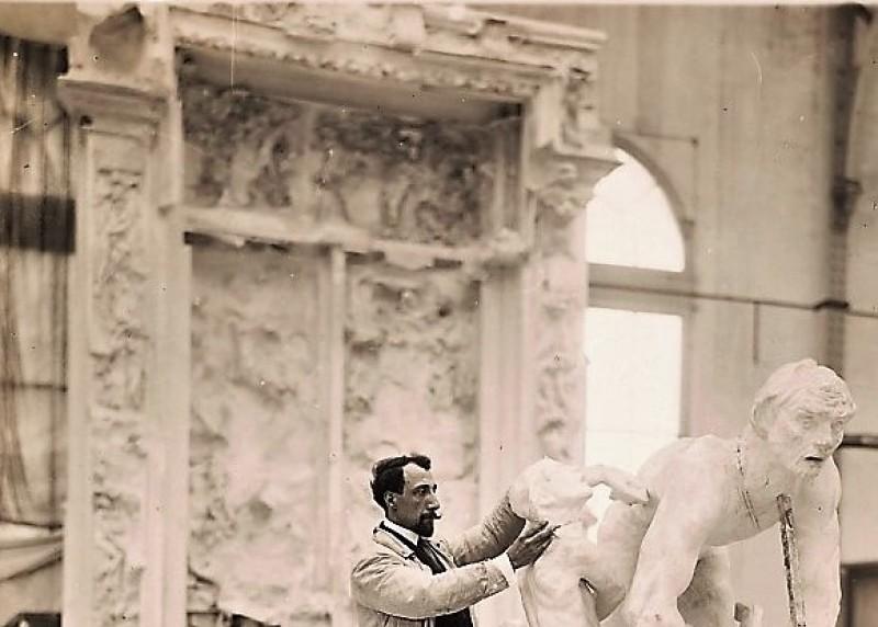 Cruet et Ugolin, Rodin et son mouleur, Musée Français de la Carte à Jouer