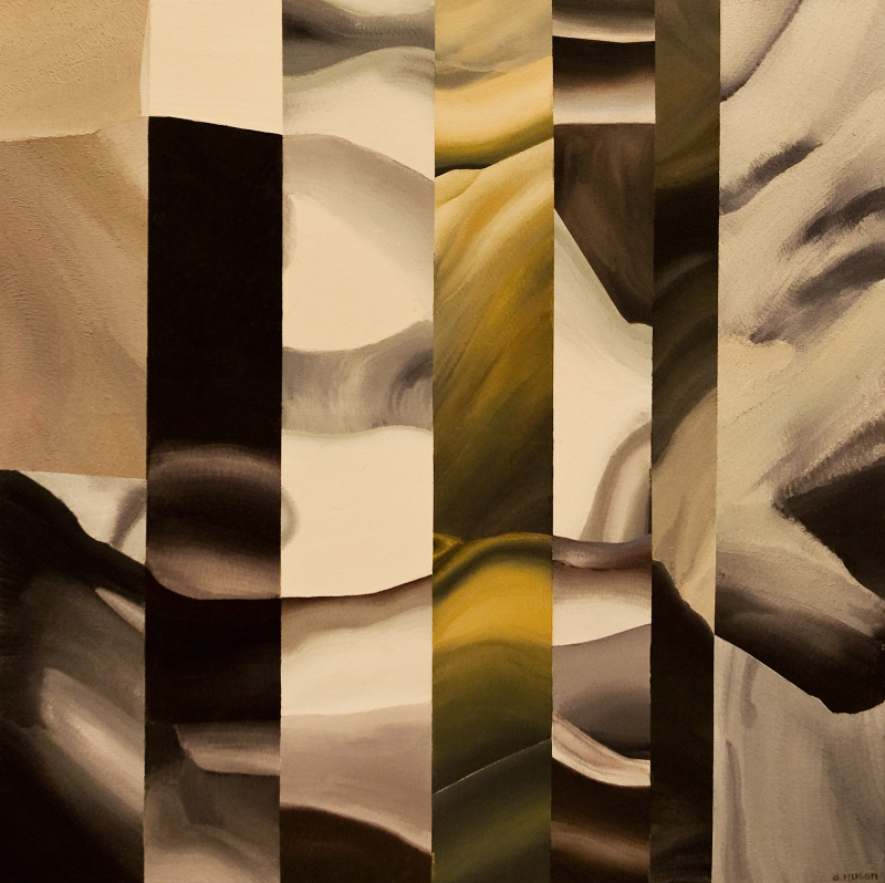 Genevieve Hugon, Equinowe, 1990, Galerie Minsky