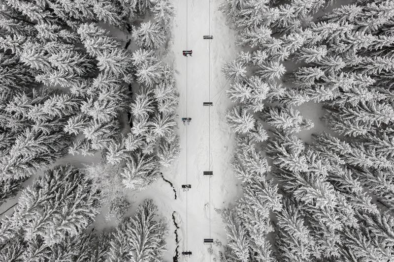 Depth Of Winter #3, Kacper Kowalski, Galerie Photo12