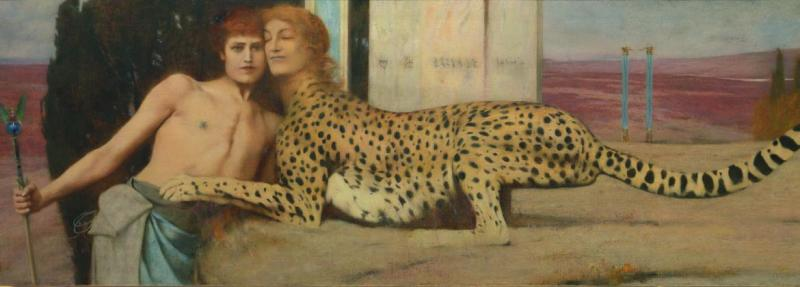 fernand khnopff, petit palais, expo in the city