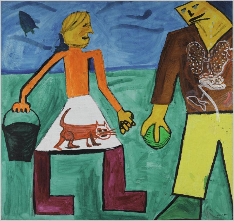Afrika (dit) Bugaev SergeÔ (nÈ en 1966). Paris, Centre Pompidou - MusÈe national d'art moderne - Centre de crÈation industrielle. AM 2016-741.