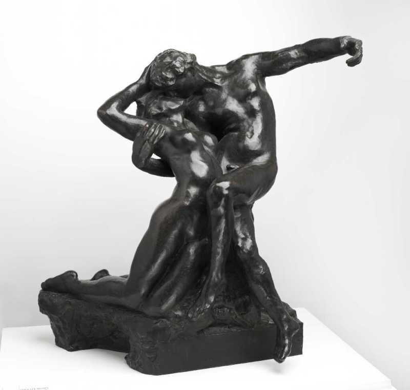 Auguste Rodin, L'éternel Printemps, Le Centenaire Rodin, Musée Sainte-Croix