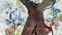 Marc Chagall, Au fil du temps, 1970 - Exposition Marc Chagall, du noir et blanc à la couleur à l'Hôtel de Caumont Centre d'Art Aix-en-Provence - © Adagp, Paris, 2017 (1)