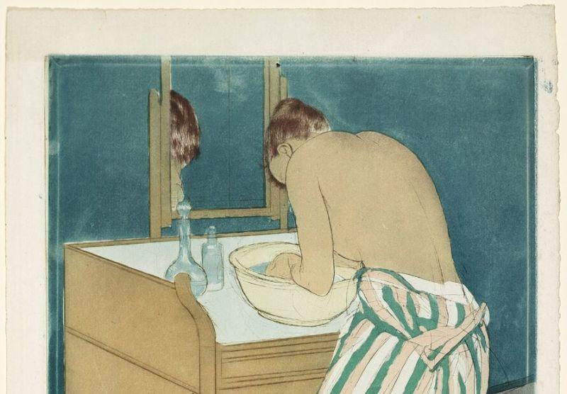 Mary Cassatt, Woman bathing