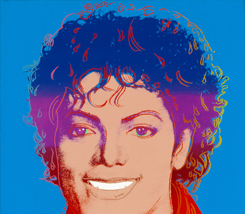 Andy Warhol, Michael Jackson