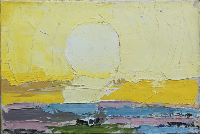 Nicolas de Staël, Le soleil, 1953
