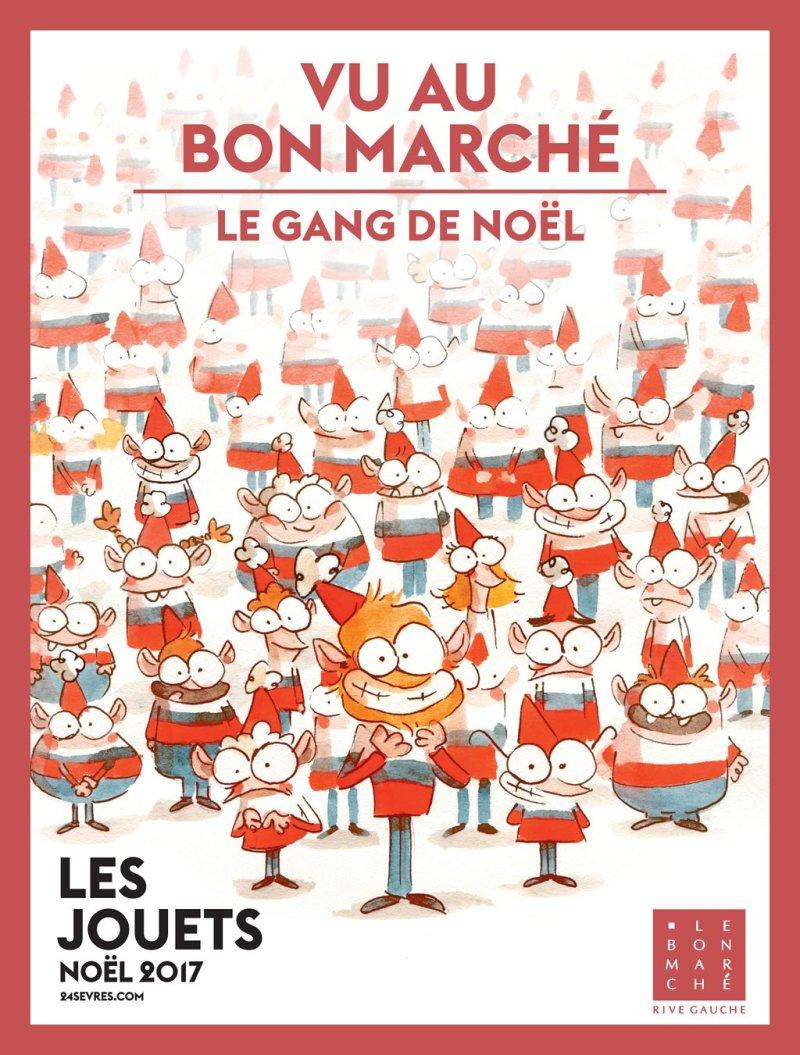 Noël 2017 au Bon Marché