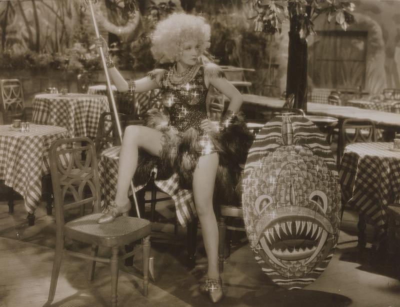 Don English Blonde Venus, 1932, film dirigé par Josef von Sternberg, Obsession Marlene, MEP