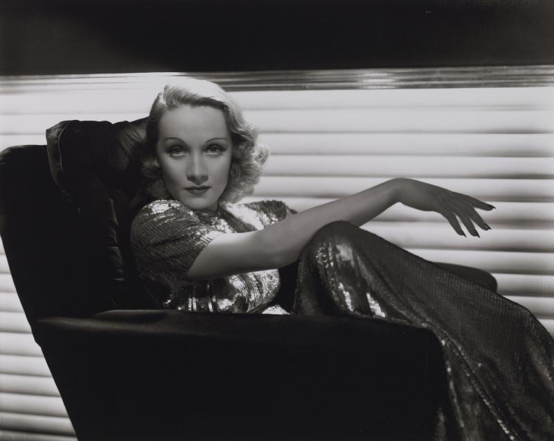 George Hurrell, Marlene Dietrich, vers 1935-1936, Obsession Marlene, MEP