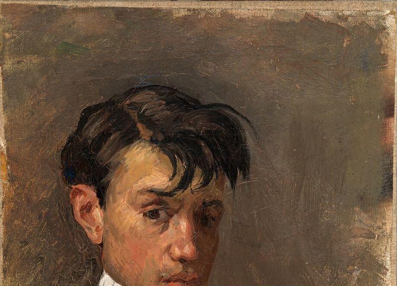 Pablo Picasso, Autoportrait, Barcelone, 1896