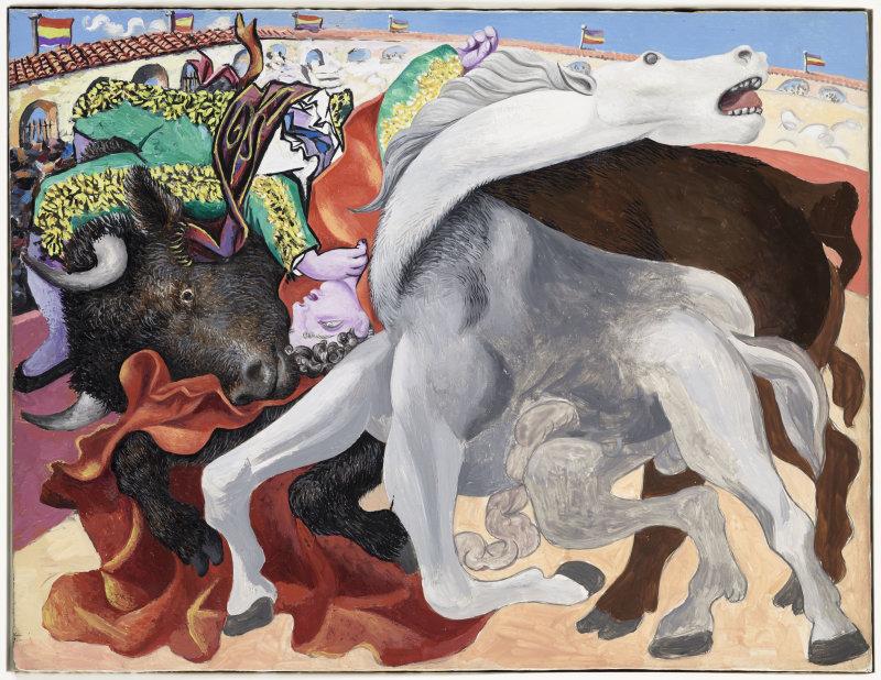Pablo Picasso, Corrida la mort du toréro, 1933