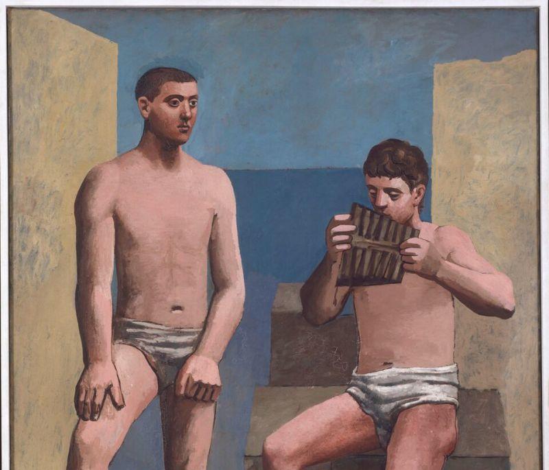 Pablo Picasso, La Flûte de Pan, été 1923