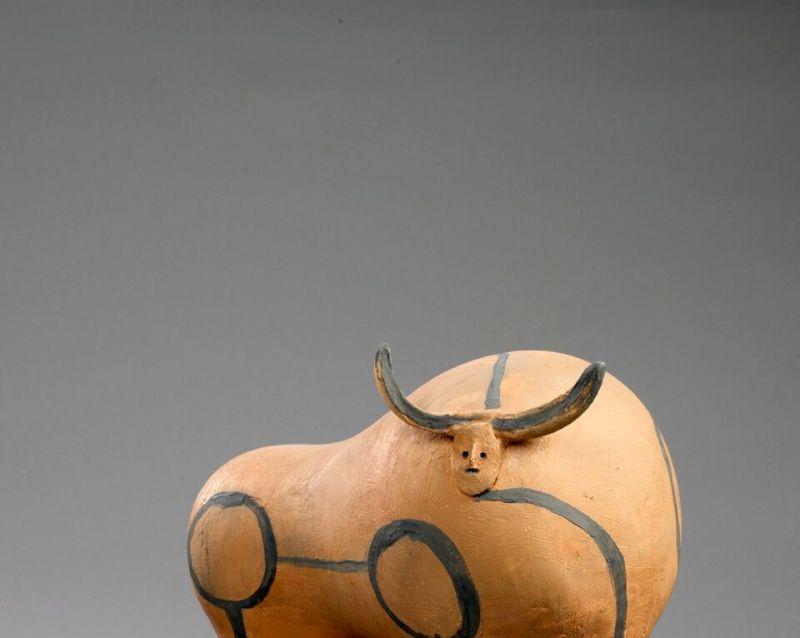 Pablo Picasso, Taureau debout, 1947-1948