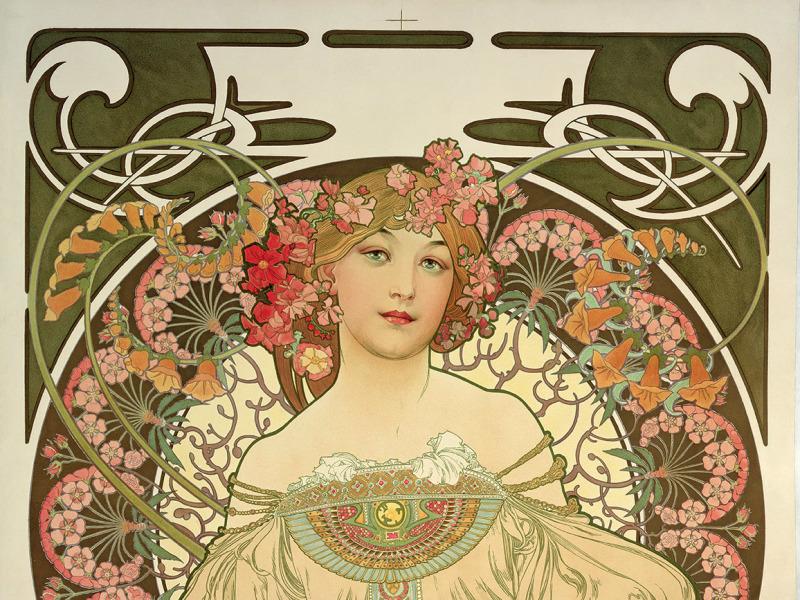 Alphonse Mucha, Rêverie, 1897