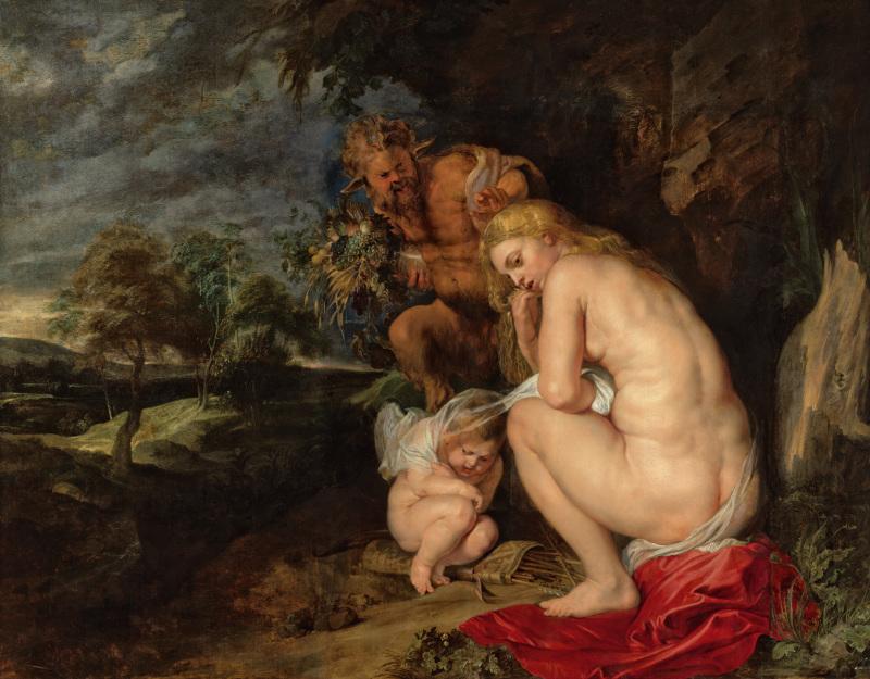Peter Paul Rubens, Venus Frigida, 1614, Rubens, le pouvoir de la transformation, Kunsthistorisches Museum, Vienne