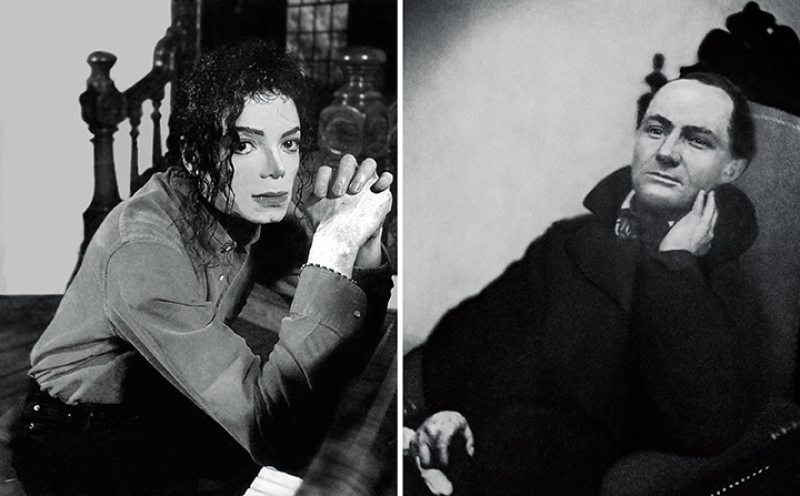 The First and Last of the Modernists, Diptych 4 Gray (Charles and Michael)