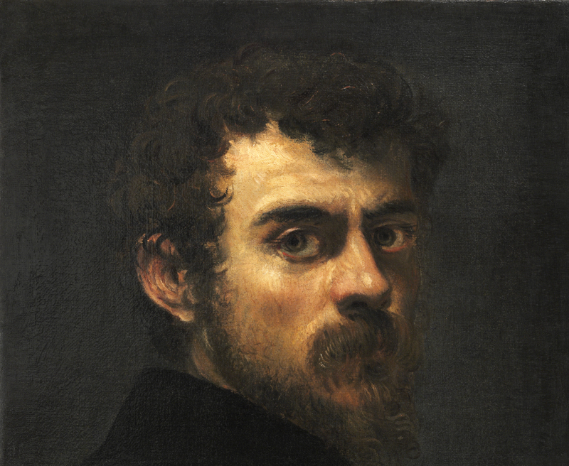 Le Tintoret - Autoportrait
