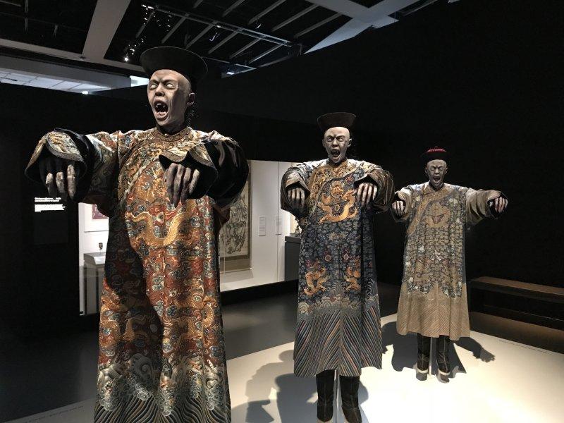 Vue de l'exposition Enfers et fantômes d'Asie - Musée du Quai Branly - Jacques Chirac (1)