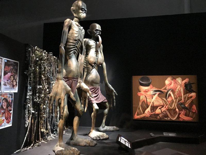 Vue de l'exposition Enfers et fantômes d'Asie - Musée du Quai Branly - Jacques Chirac (47)