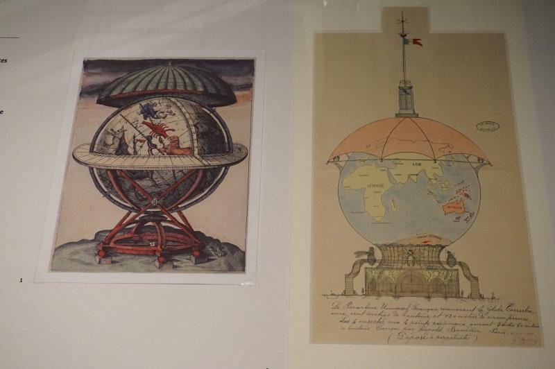 Vue de l'exposition Globes à la Cité de l'Architecture et du Patrimoine (17)