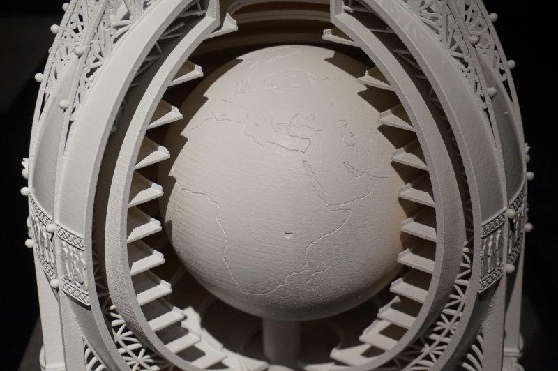 Vue de l'exposition Globes à la Cité de l'Architecture et du Patrimoine (20)