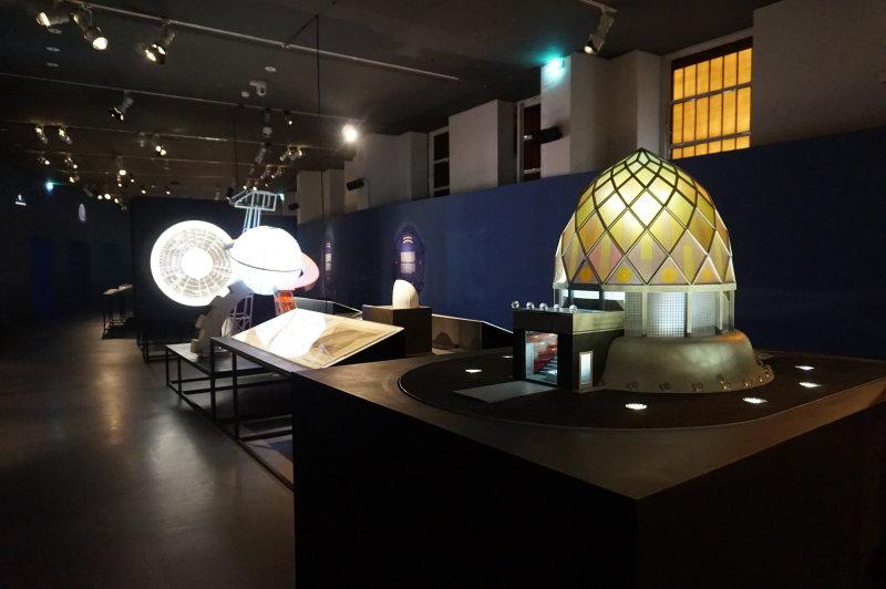 Vue de l'exposition Globes à la Cité de l'Architecture et du Patrimoine (23)