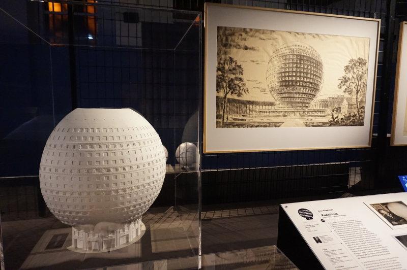 Vue de l'exposition Globes à la Cité de l'Architecture et du Patrimoine (27)