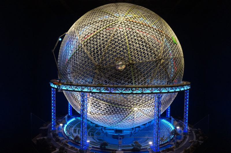 Vue de l'exposition Globes à la Cité de l'Architecture et du Patrimoine (30)