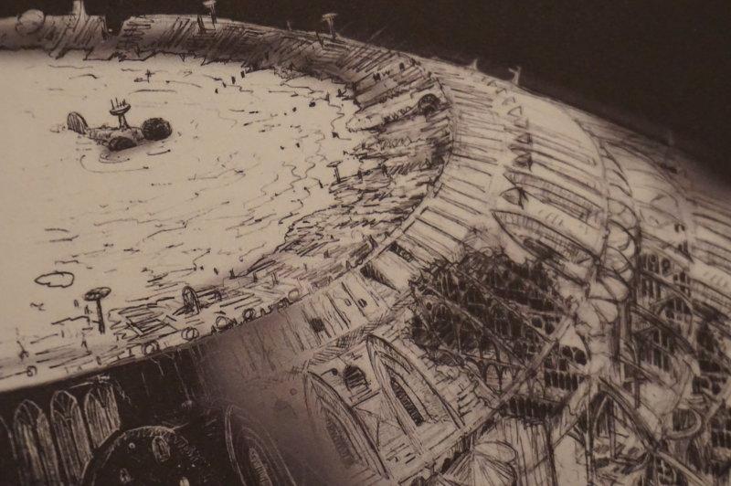 Vue de l'exposition Globes à la Cité de l'Architecture et du Patrimoine (57)