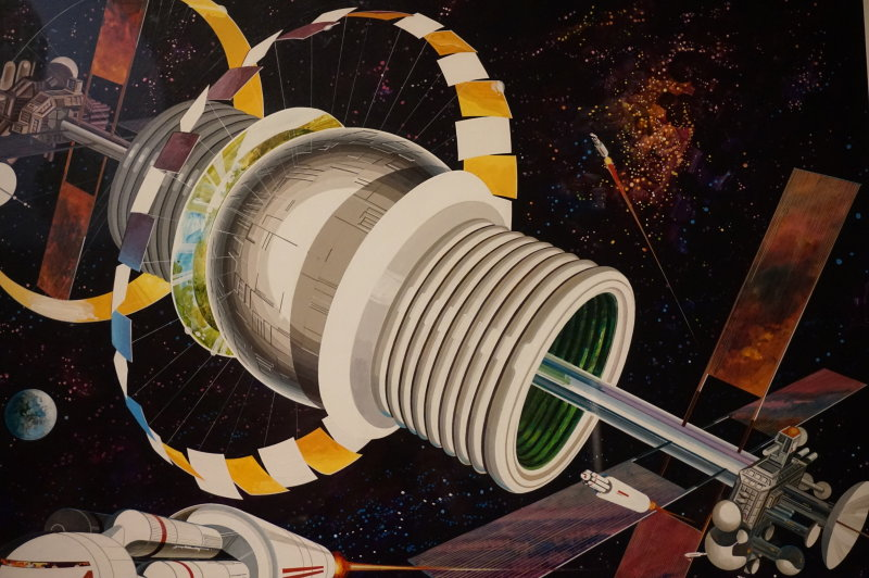 Vue de l'exposition Globes à la Cité de l'Architecture et du Patrimoine (59)
