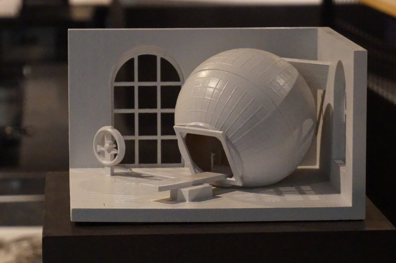 Vue de l'exposition Globes à la Cité de l'Architecture et du Patrimoine (7)