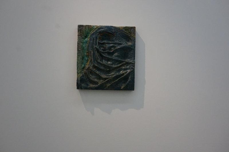Vue de l'exposition Johan Creten à la galerie Perrotin (30)