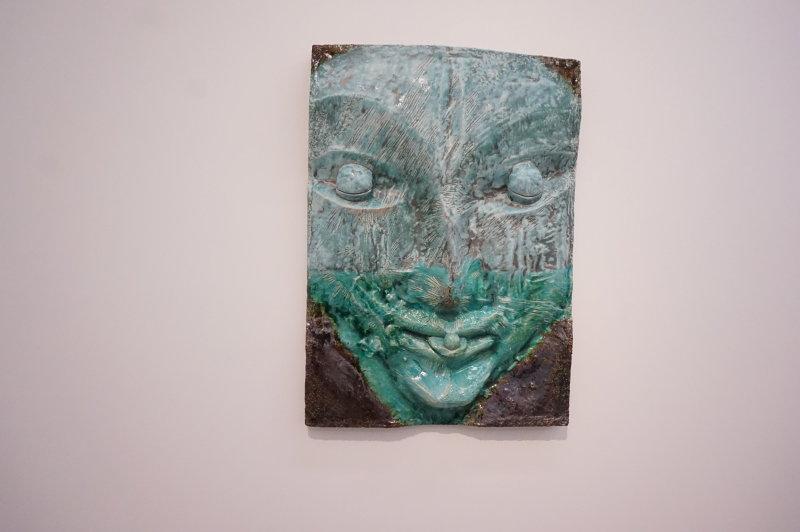 Vue de l'exposition Johan Creten à la galerie Perrotin (7)