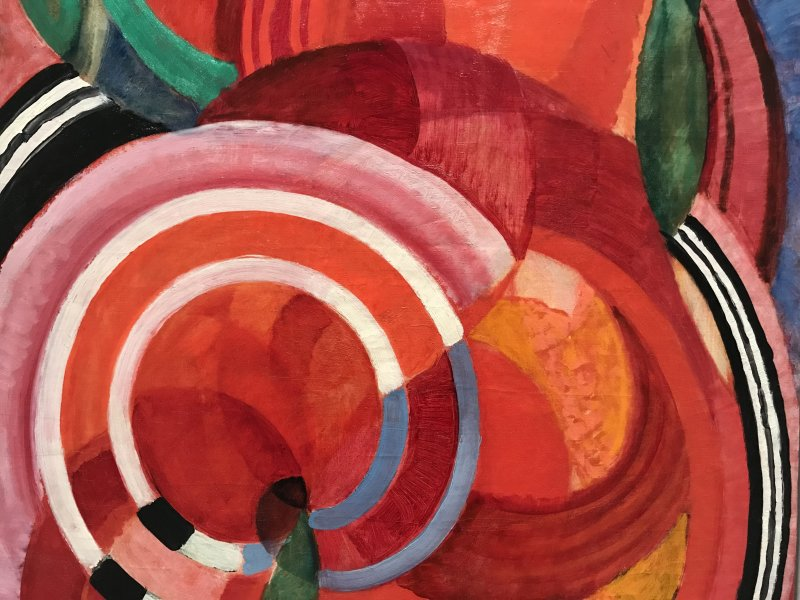 Vue de l'exposition Kupka, Pionnier de l'abstraction - Grand Palais