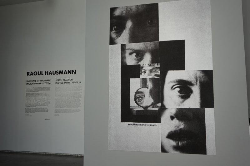 Vue de l'exposition Raoul Hausmann - Jeu de Paume (2)