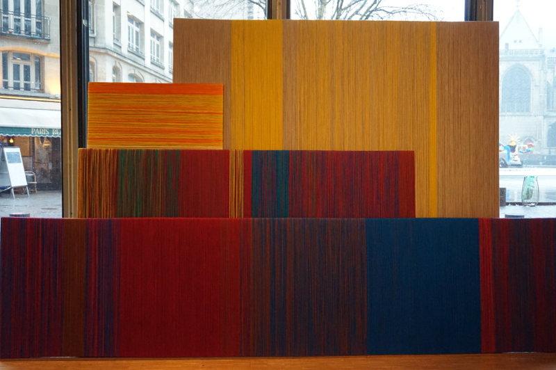 Vue de l'exposition Sheila Hicks, Lignes de vie - Centre Pompidou (6)