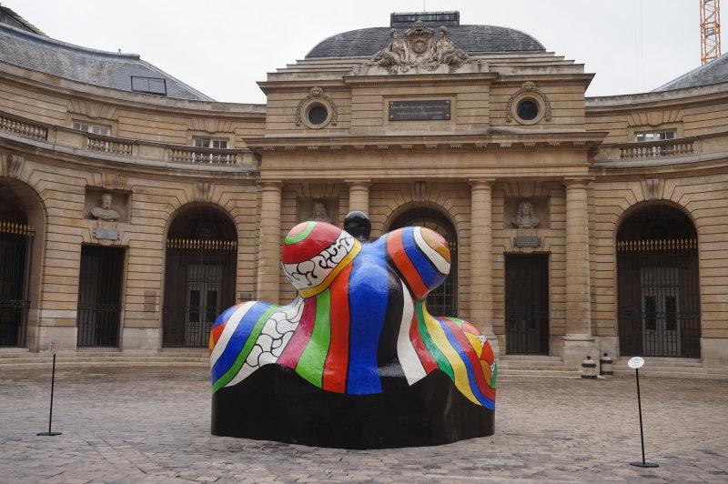Vue de l'exposition Women House, Monnaie de Paris