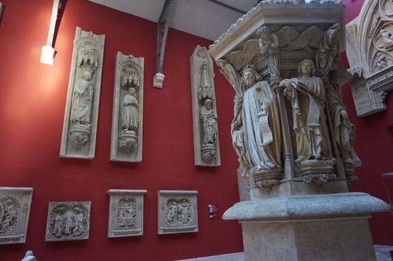 Vue des Collections permanentes de la Cité de l'Architecture et du Patrimoine