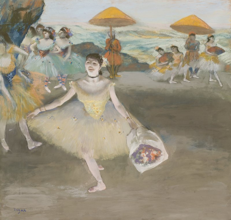 03. Degas_Danseuse au bouquet