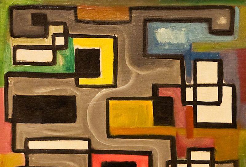 Henri-Jean Closon, Du gris à la couleur, 1945