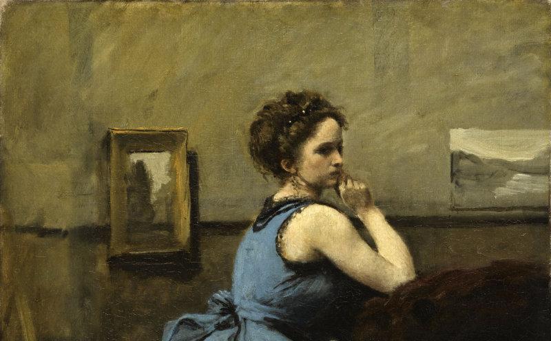 Corot Jean-Baptiste Camille (1796-1875). Paris, musÈe du Louvre. RF2056.