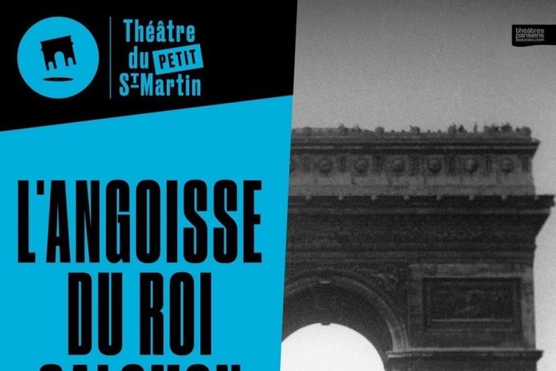 L'Angoisse du Roi Salomon au Théâtre du Petit Saint-Martin