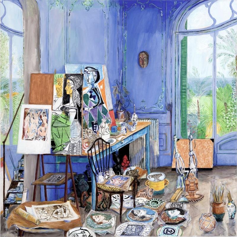 Picasso, Villa Californie, panneau 3 © Damian Elwes
