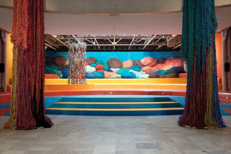 Sheila Hicks, Baôli, 2014 - Palais de Tokyo
