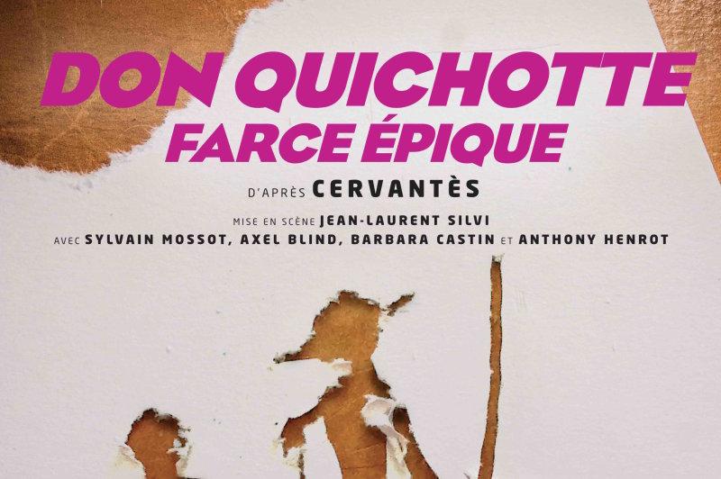 Théâtre - Don Quichotte, Farce épique au Lucernaire