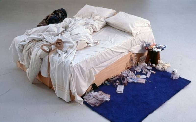 tracey emin, expo in the city