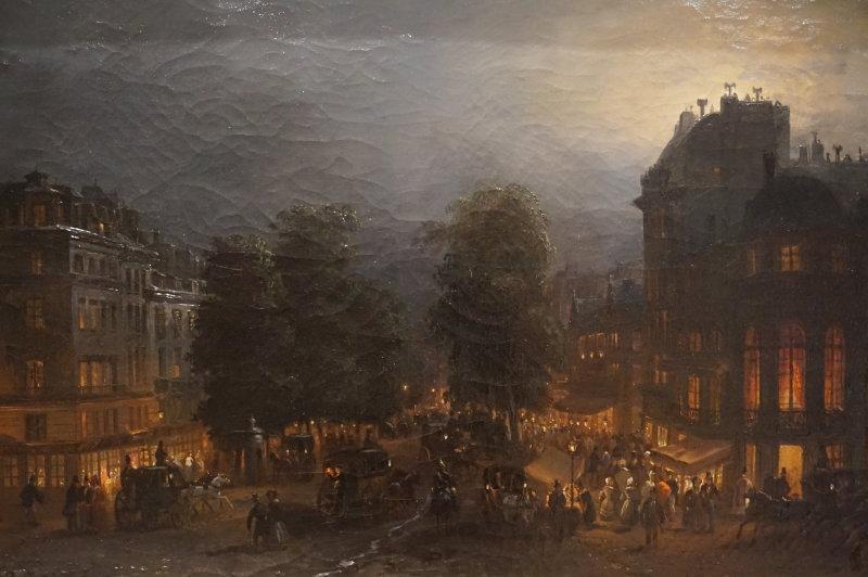 Vue de l'exposition Les Nuits Parisiennes - Hôtel de Ville