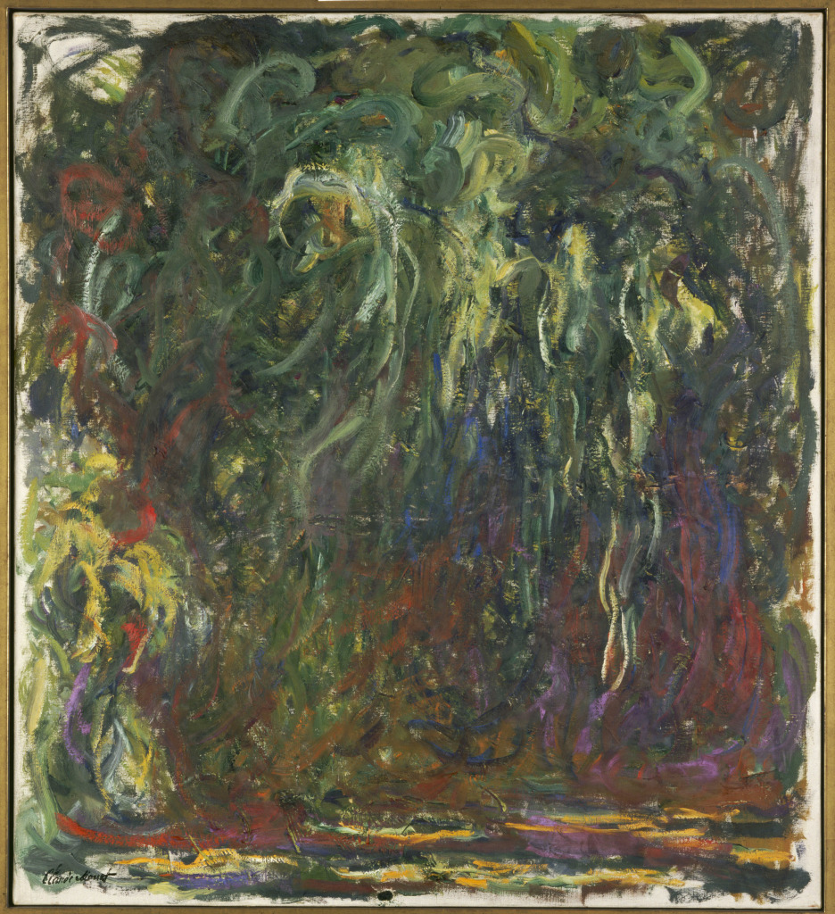 02. Nympheas. Claude Monet - Saule pleureur, 1920-1922